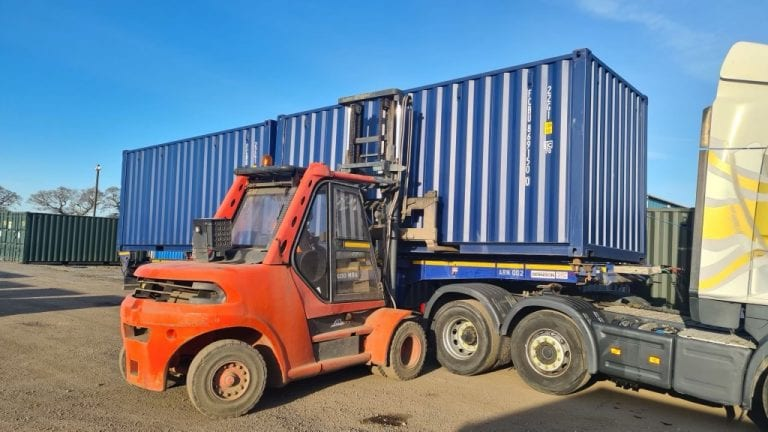 Container Transport North East – 2 x 20ft